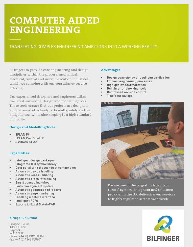 Computer Aided Engineering Brochure