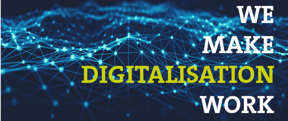 We Make Digitalisation Work quote