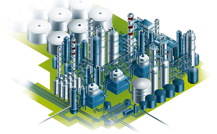 Chemical & Petrochemical graphic
