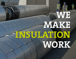 We Make Insulation Work quote